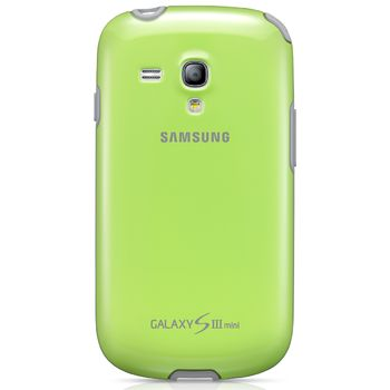 Samsung zadní kryt EFC-1M7BG pro Galaxy S III mini (i8190), zelená