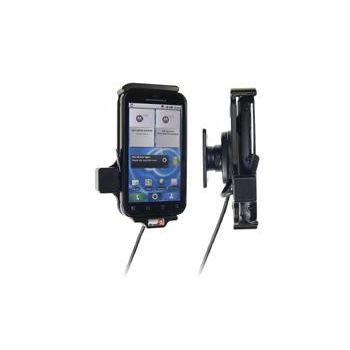 Brodit držák do auta pro Motorola Defy+ MB526 / MB525 se skrytým nabíjením v palubní desce