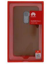 Huawei kožené pouzdro pro Mate S, hnědé