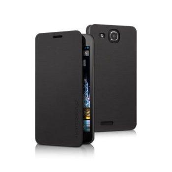 Alcatel flipové pouzdro One Touch Idol ULTRA s logem, černá