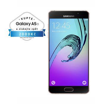 Samsung Galaxy A5 2016 (SM-A510F), 16GB, růžová, akce cashback 2 000 Kč
