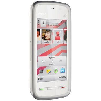 Nokia 5230 White Pink + Nabíjecí sada na kolo Nokia