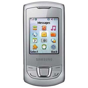 Samsung E2550 Monte Slider metallic silver