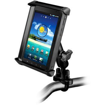 """RAM Mounts univerzální držák pro tablet 7""""- 8"""" na motorku nebo na kolo na řídítka, Ø objímky 12,7-31,75 mm, sestava RAM-B-149Z-TAB-SMU"""