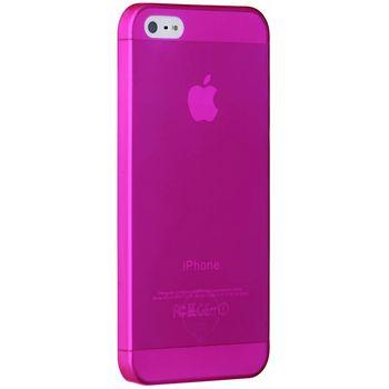 Ozaki kryt pro iPhone 5/5S O!coat 0.3 JELLY, červená