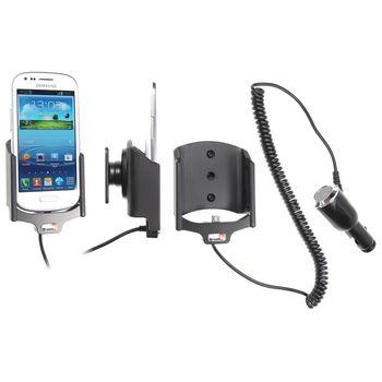 Brodit držák do auta pro Samsung Galaxy S III Mini s nabíjením + adaptér pro snadné odebrání držáku z proclipu