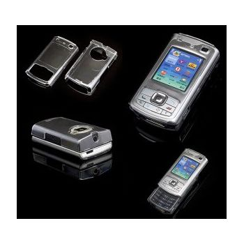 Transparentní pouzdro Brando Crystal - Nokia N80