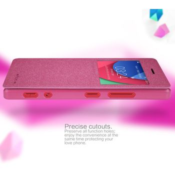 Nillkin Sparkle S-View Pouzdro Red pro Lenovo Z90