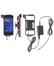 Brodit držák do auta na Sony Xperia M4 Aqua bez pouzdra, s nabíjením z cig. zapalovače/USB