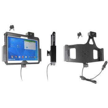Brodit držák do auta na Samsung Galaxy Tab 4 10.1 v pouzdru Otterbox, s nabíjením z CL/USB,se zámkem