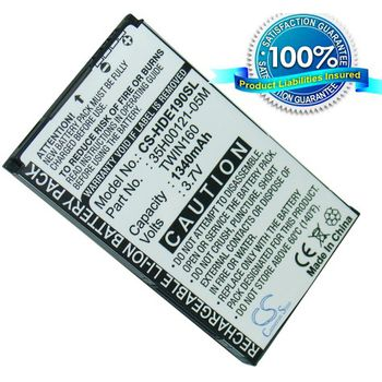 Baterie náhradní (ekv. BA-S380) pro HTC Hero, Li-ion 3,7V 1340mAh
