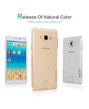 Nillkin pouzdro Nature TPU pro Samsung Galaxy A7, transparentní, růžové