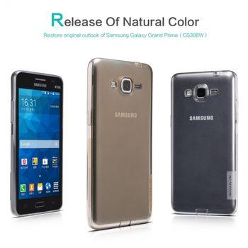 Nillkin pouzdro Nature TPU pro Samsung G530 Galaxy Grand Prime, šedé