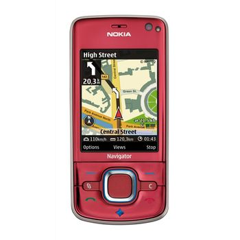 NOKIA 6210navigator Red (6m Navigace)