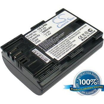Baterie (ekv. LP-E6) pro Canon EOS 60D, 5D Mk II, 7D, 1800mAh
