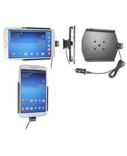 Brodit držák do auta na Samsung Galaxy Tab 3 8.0 bez pouzdra, s nabíjením z cig. zapalovače/USB