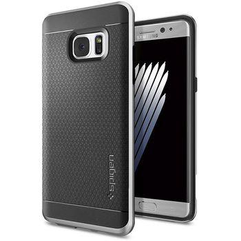 Spigen ochranný kryt Neo hybrid pro Galaxy Note 7, stříbrné