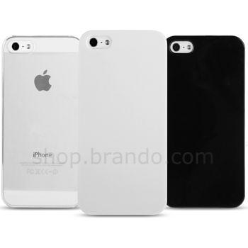 Pouzdro tvrdé nasazovací Brando - Apple iPhone 5 (černé)