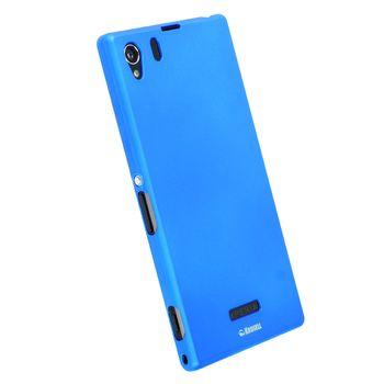Krusell hard case - ColorCover - SONY Xperia Z1, modrá