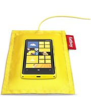 Nokia polštářek (Fatboy) pro bezdrátové dobíjení DT-901 - Nokia Lumia 920/820, žlutá