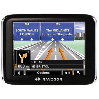 NAVIGON 2200 - mapy regionu, RDS-TMC