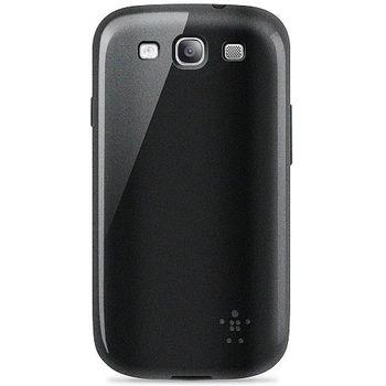 Belkin TPU pouzdro Grip Glam pro Samsung Galaxy S III, černé (F8M400cwC00)