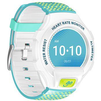 Alcatel GO WATCH SM03, bílá/zelená&modrá