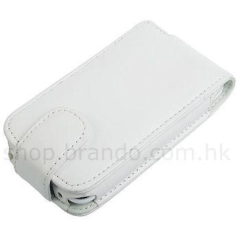 Pouzdro kožené Brando Flip Top - iPhone 3G (bílá)