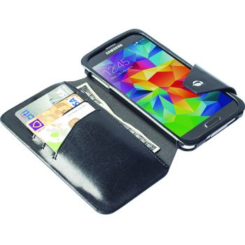 Krusell pouzdro FlipWallet Kalmar - Samsung Galaxy S5, černá