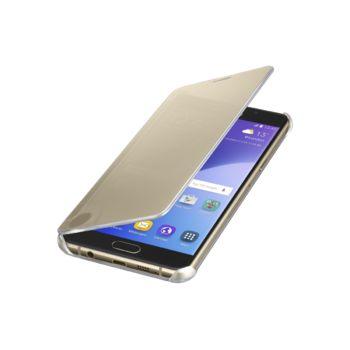 Samsung ochranný kryt ClearView pro Galaxy A5 (A510), zlatý