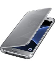 Samsung flipové pouzdro Clear View EF-ZG930CS pro Galaxy S7, stříbrné