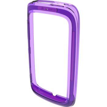 Nokia měkký kryt CC-1039 pro Nokia Lumia 610, purpurová