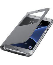 Samsung flipové pouzdro S View EF-CG930PS pro Galaxy S7, stříbrné