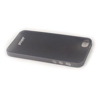 Jekod TPU kryt Ultrathin 0,3mm pro iPhone 5/5S, černá transparentní