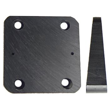 Brodit Mounting Plate 50x50x5-14mm