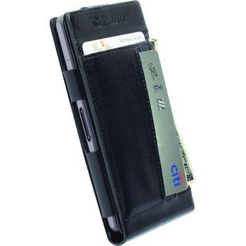 Krusell pouzdro WalletCase Kalmar - Sony Xperia Z1 Compact, černá