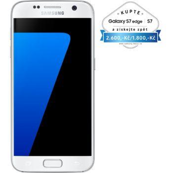 Samsung Galaxy S7 G930 32GB bílá, akce cashback 1 800 Kč