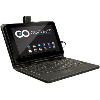 """GoClever pouzdro s klávesnicí pro 10"""" tablety GoClever, USB, touchpad, černá"""