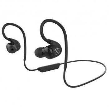 Scosche bluetooth sportovní sluchátka s mikrofonem a ovládáním sportclipAIR, černo-šedé