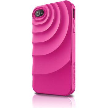 Musubo pouzdro Ripple pro Apple iPhone 4/4S - růžová