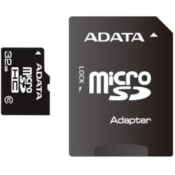 Adata microSDHC 32GB Class 10 paměťová karta + SDHC adaptér