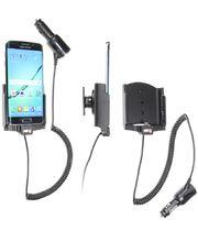 Brodit držák do auta na Samsung Galaxy S6 Edge bez pouzdra, s nabíjením z cig. zapalovače