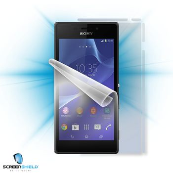 Fólie ScreenShield Sony Xperia M2 - celé tělo