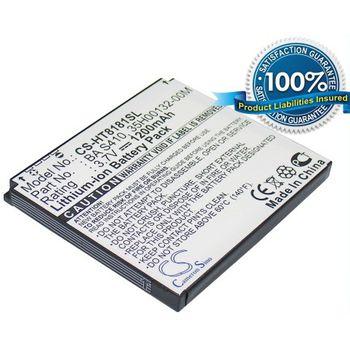 Baterie (ekv. BA-S410) pro HTC Desire, Li-ion 3,7V