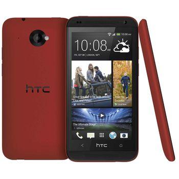 HTC Desire 601, červený