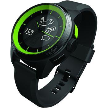 Cookoo watch - Bluetooth 4.0 hodinky pro iOS černo-zelené - limitovaná edice