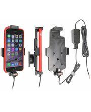 Brodit držák do auta na Apple iPhone 6/6s/7 v pouzdru, s pružinou, se skrytým nabíjením