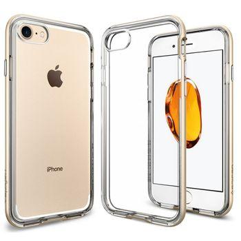 Spigen ochranný kryt Neo Hybrid Crystal pro iPhone 7, zlatá