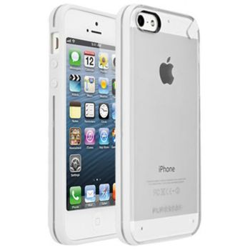 PureGear Slim Shell kryt pro iPhone 5/5S - Coconut Jelly, bílá
