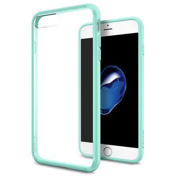 Spigen ochranný kryt Ultra Hybrid pro iPhone 7 plus, tyrkysová